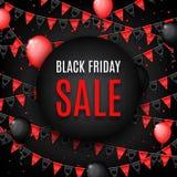 Design of banner of Black Friday sale Stock Images
