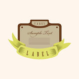 Design banner elements vector,eps Royalty Free Stock Photo