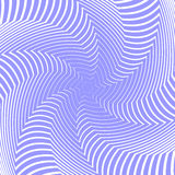 Design blue whirl movement illusion background Stock Images