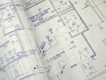 Design Blueprint royalty free stock photography