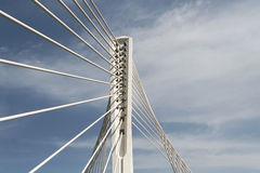 Design of the Bridge. Crosspieces and support supporting a design of the bridge royalty free stock photography