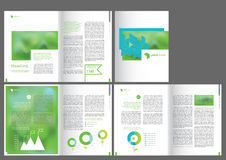 Design  brochure template Stock Photo