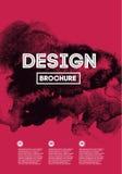 Design brochure Stock Photo