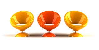 Design bubble chair Royalty Free Stock Image