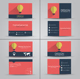 Design business card Royalty Free Stock Photography