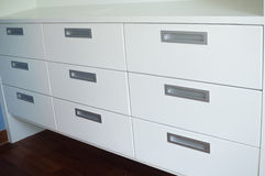 Design cabinets Royalty Free Stock Photo