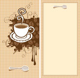 Design for the cafe Stock Photos