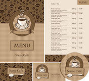 Design for a cafe Stock Images