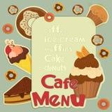 Design Cafe Menu Stock Images