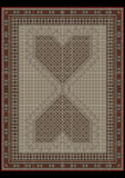 Design carpet from ethnic ornament at center. Design carpet from ethnic ornament at a gray-green center Stock Photos