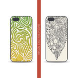 Design Case for Phone Four Stock Images