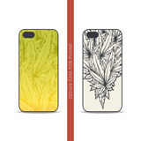 Design Case for Phone Two Stock Images
