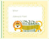 Design for children Royalty Free Stock Image