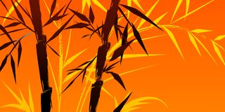 Design of chinese bamboo trees vector illustration