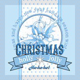Design Christmas card Stock Photo