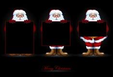 Design christmas card Stock Photos
