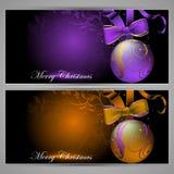 Design christmas cards Stock Image