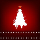 Design with christmas tree. EPS 8 Royalty Free Stock Image