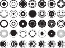Design circles Royalty Free Stock Photos