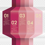 Design clean number banners template/graphic or website layout Royalty Free Stock Image