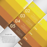 Design clean number banners template/graphic or website layout. Stock Photography