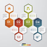 Design clean number banners template royalty free illustration