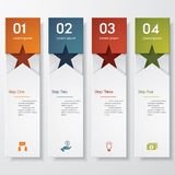 Design clean number banners template. /graphic or website layout. Vector Stock Photos