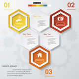 Design clean number banners template. /graphic or website layout. Vector Royalty Free Stock Image