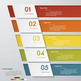 Design clean number banners template. /graphic or website layout. Vector Royalty Free Stock Photo