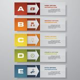 Design clean number banners template/graphic or website layout. Vector. EPS 10 Stock Photography