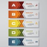 Design clean number banners template/graphic or website layout. Vector. EPS 10 Stock Image