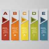 Design clean number banners template/graphic or website layout. Vector. EPS 10 Vector Illustration