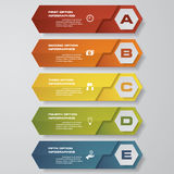 Design clean number banners template/graphic or website layout. Vector. EPS10 Royalty Free Stock Image