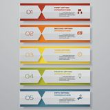 Design clean number banners template/graphic or website layout. Vector. EPS 10 Stock Illustration