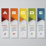 Design clean number banners template/graphic or website layout. Vector. EPS 10 Royalty Free Stock Image