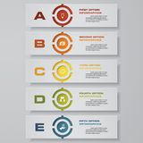 Design clean number banners template. Vector. Design clean number banners template/graphic or website layout. Vector. EPS 10 Royalty Free Stock Images