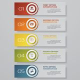 Design clean number banners template. Vector. EPS 10 vector illustration