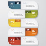 Design clean number banners template. Vector. Design clean number banners template/graphic or website layout. Vector Stock Image