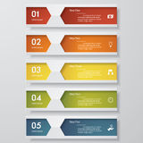 Design clean number banners template. Vector. Design clean number banners template/graphic or website layout. Vector Stock Illustration