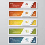 Design clean number banners template. Vector. Design clean number banners template/graphic or website layout. Vector Stock Photos
