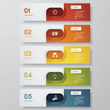 Design clean number banners template. Vector. Design clean number banners template/graphic or website layout. Vector Stock Photography