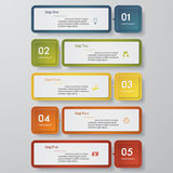 Design clean number banners template. Vector. Design clean number banners template/graphic or website layout. Vector Vector Illustration