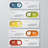 Design clean number banners template. Vector.. Design clean number banners template/graphic or website layout. Vector Stock Illustration