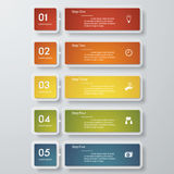 Design clean number banners template. Vector. Design clean number banners template/graphic or website layout. Vector Royalty Free Illustration