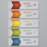 Design clean number banners template. Vector. Design clean number banners template/graphic or website layout. Vector. EPS 10 Royalty Free Illustration