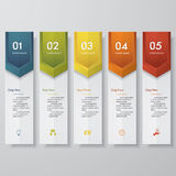 Design clean number banners template. Vector. Design clean number banners template/tags or website layout. Vector Vector Illustration