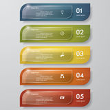 Design clean number banners template. Vector. Design clean number banners template/tags or website layout. Vector Royalty Free Illustration