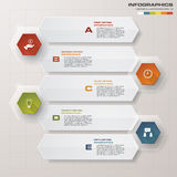Design clean number banners template. Vector. Royalty Free Stock Image