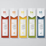 Design clean number banners template. Vector. Design clean number banners template/tags or website layout. Vector Stock Photo