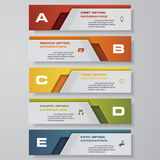 Design clean number banners template. Vector. Design clean number banners template/tags or website layout. Vector Royalty Free Stock Images